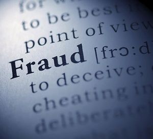 Dictionary definition of the word Fraud
